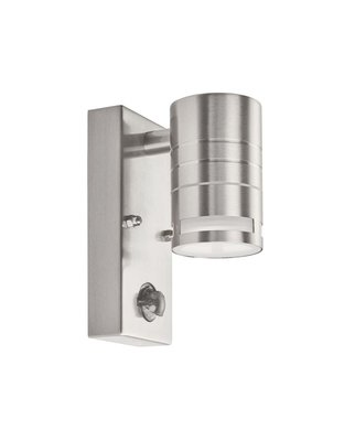 OUTDOOR & PORCH PIR 1 LIGHT CYLINDER DOWNLIGHT WALL...