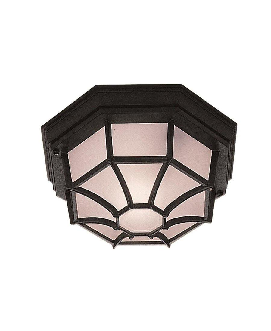 deckenlampe aussenlampe ip54 aussenleuchte schwarz weiss. Black Bedroom Furniture Sets. Home Design Ideas