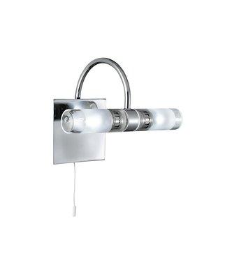 Badezimmerleuchte Mit Schalter Chrom Glas