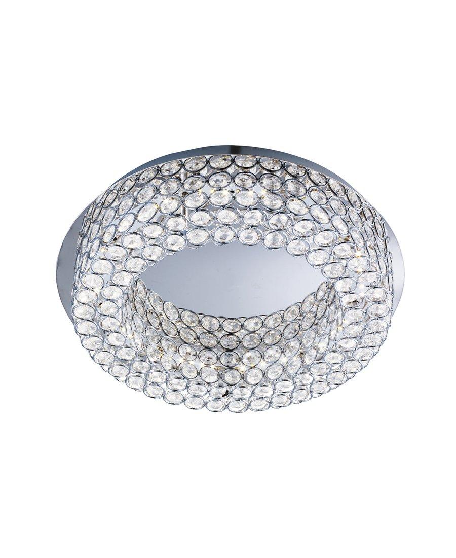 moderne deckenlampe lampe 40 cm kristall led deckenleuchte leuchte 2. Black Bedroom Furniture Sets. Home Design Ideas