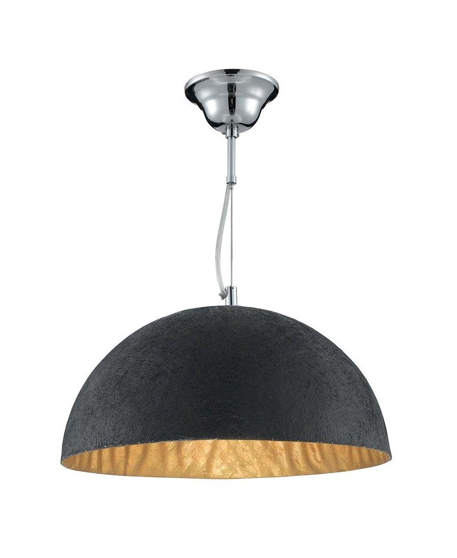 moderne led pendelleuchte schwarz innen gold 109 80. Black Bedroom Furniture Sets. Home Design Ideas