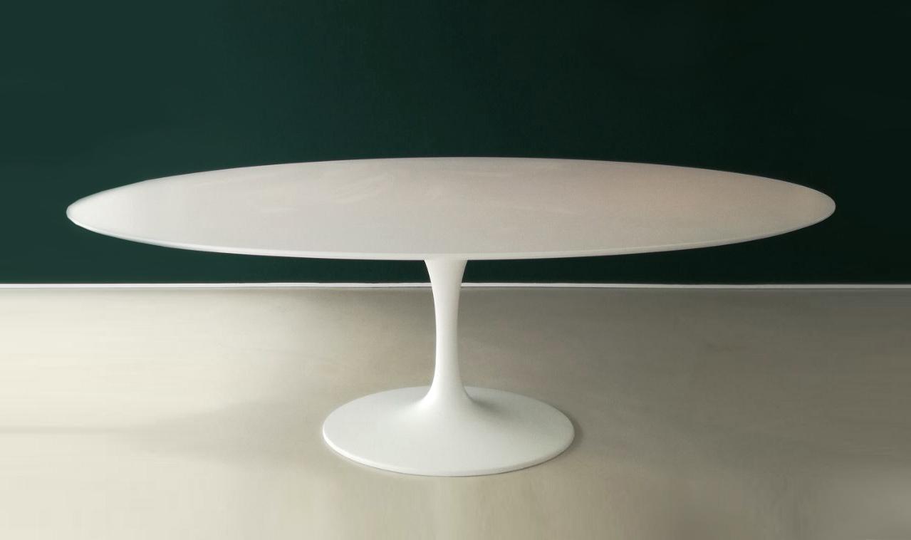 Saarinen tuliptisch rund marmor calacatta for Tisch rund marmor